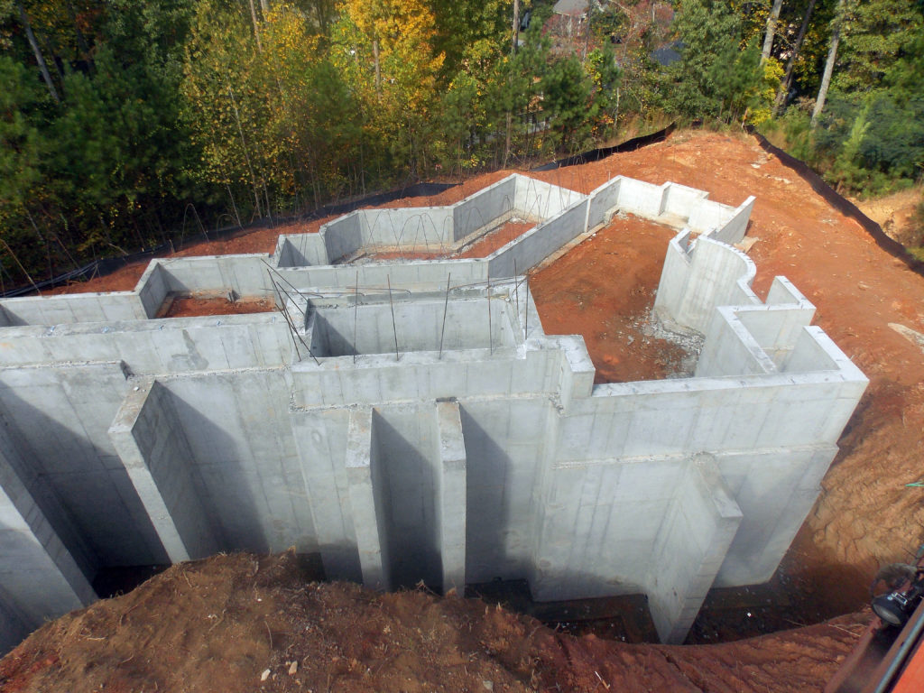 Custom Home Foundations Herbert Construction
