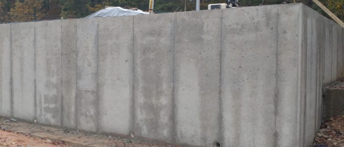 Concrete Retaining Walls Herbert Construction