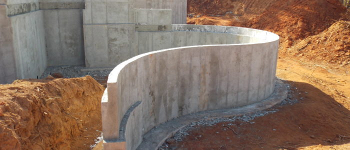 Concrete Retaining Walls Herbert Construction